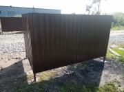Ограждение для контейнеров ТБО 2350*1500*1500