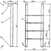 Лестница СГ-58 стальная серии 5,8*0,72*0,2