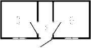 Блок-контейнер Б-7   2,4*2,45*4,0 м.