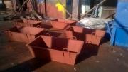 Ящик каменщика для раствора с 4 петлями ТРП-0,25 м.куб  сталь 2