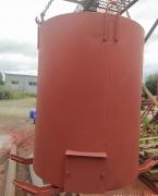 Бак для нагрева воды утепленный V-1,0м3