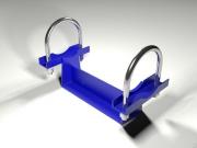 Опора трубопровода подвижная приварная тип ОПХ1