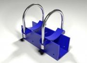 Опора трубопровода подвижная приварная тип ОПХ2