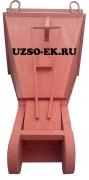 Бадья для раствора, бетона «Туфелька» БПУ-1.6 (усиленная)
