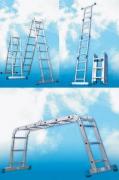 Лестница-трансформер 4-х секц. 4 ступени