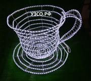 Чашка с блюдцем (светодиод)