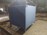 Бак для нагрева воды V-1,0м3 утепленный
